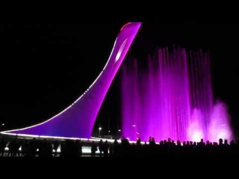 Олимпийский парк Сочи   На лабутенах