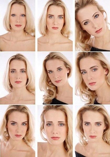 Как прическа меняет лицо