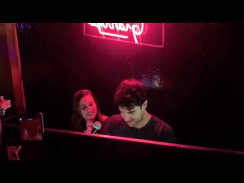 Darren Criss and Lea Michele- Don't Stop Believing / Seasons of Love