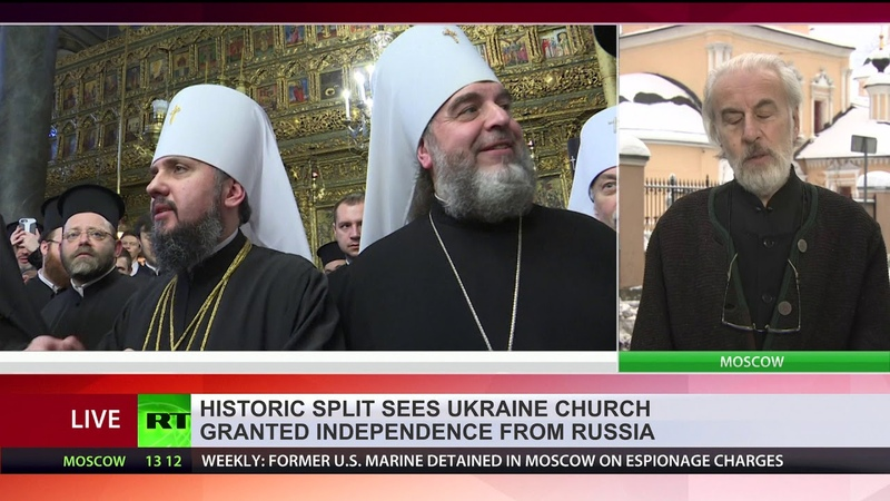 Historic split sees Ukraine church granted independence from Russia
