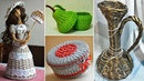 100 ideas of crafts made from newspaper tubes made by own hands