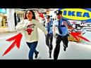 НОЧЬ В IKEA ПРЯЧУСЬ ОТ ОХРАННИКОВ 24 Часа Челлендж Сhallenge VLOG