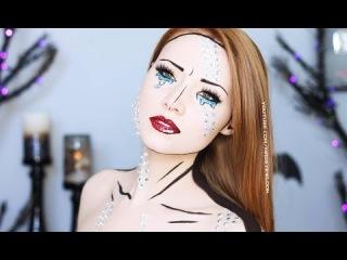 Comic Book Makeup Tutorial- ЭТО НЕ ГРАФИКА, А РЕАЛЬНЫЙ MAKE UP!!