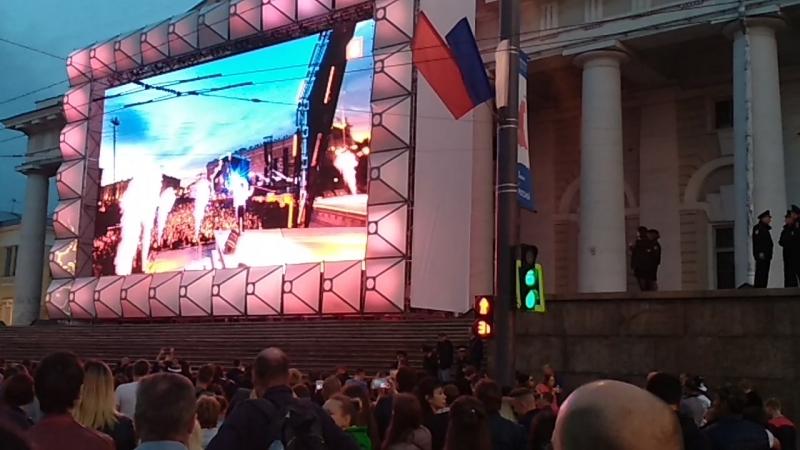 Алые паруса 2018 (концерт на Дворцовой)