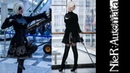 NieR Automata 2B and 9S Cosplay at Cosplay Star Shtuka 2018