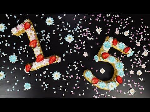 Εύκολη τούρτα με αριθμούς για πάρτι γενεθλίων | Foodaholics
