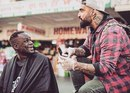 27-летний Назир Собхани, известный под псевдонимом The Streets' Barber…