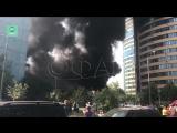 Теннисный клуб загорелся в подмосковном Реутове, ФАН публикует видео
