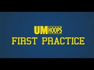 Michigan Basketball First Practice 2013-14