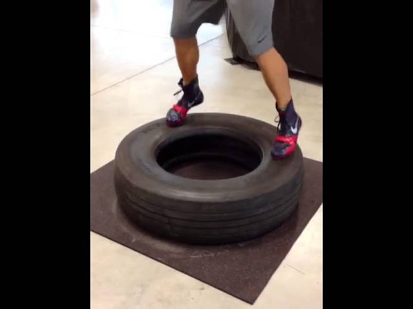Tire Footwork Drill