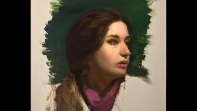 Portrait Painting Tutorial | Color Light
