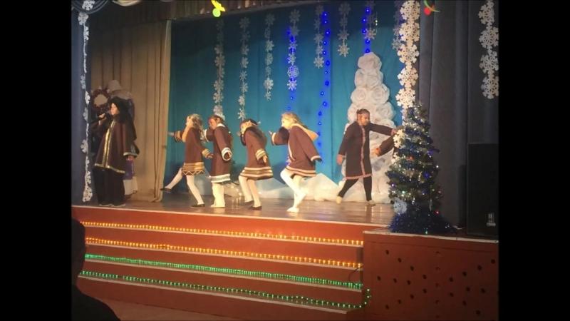 Новогодние приключения Дед Мороза и Снегурочки (Курагинский район)