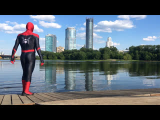 Spiderman far from home parkour in real life
