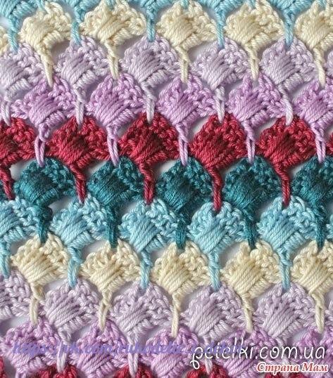 Узорные вязание спицами