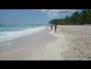 Наш пляж на острове Саона!