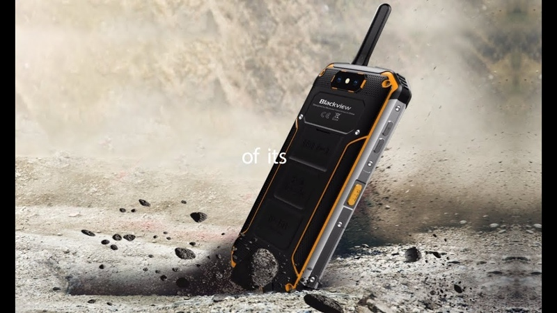 Blackview BV9500 Pro Crowdfunding, LAN Intercom IP68 rugged smartphone with 12V2A wireless charging