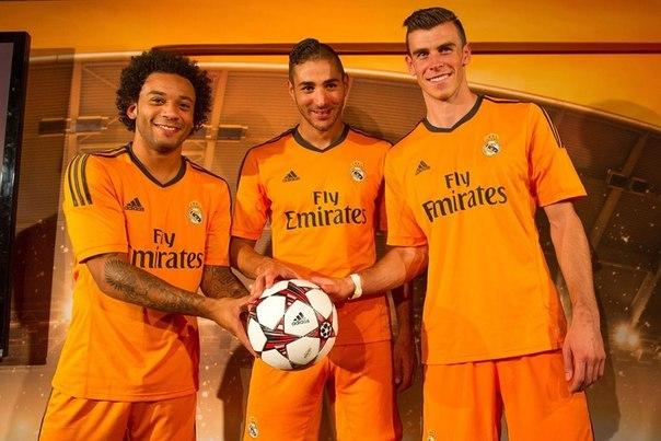 Сегодня мадридский Реал впервые сыграет в 3-м комплекте формы.