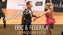 Eric Testa Federica Brezzo Ча ча ча GOC2018 GrandSlam LATIN Четверьфинал