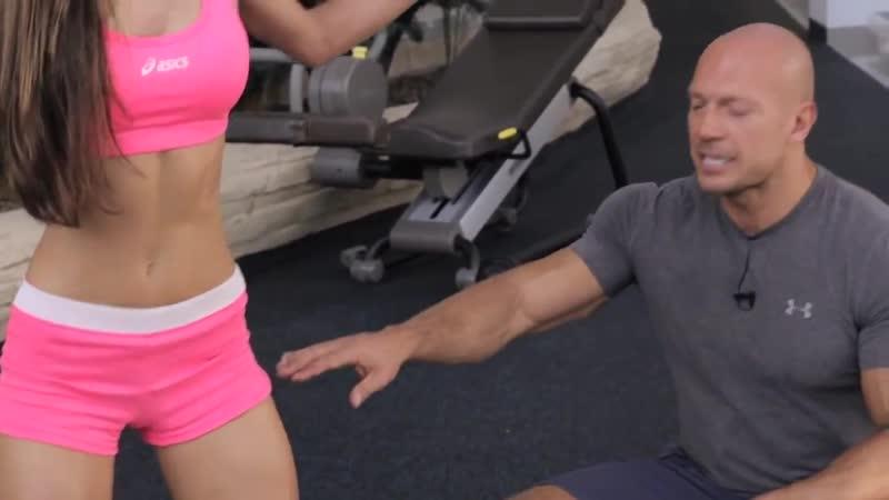 [EasyFitness] Денис Семенихин. Фитнес для девушек - Приседания. (002)