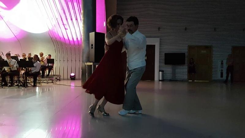 Танго-джаз. Александр и Ольга Кутыревы. Новосибирск 07.09.18.