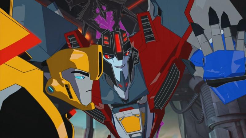 «Трансформеры. Роботы под прикрытием» Безумие миниконов. (18 серия FullHD)