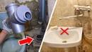 Ремонт ванной комнаты и туалета ОТ и ДО Часть 1 Переделка инженерных коммуникаций Ремонт квартиры своими руками