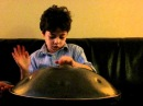 8year old plays amazing hang