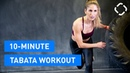 Runtastic Fitness - 10-Minute Tabata HIIT Workout | Короткая табата-тренировка
