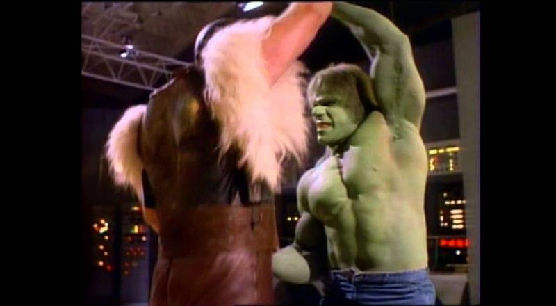 Hulk vs Thor (1988 2012)