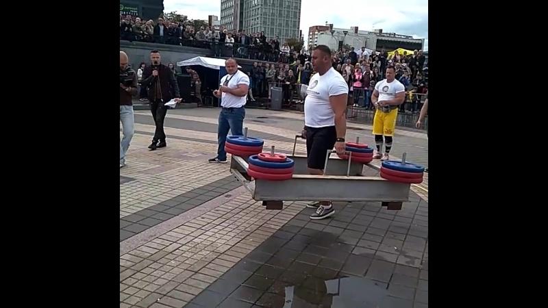 Руслан Багиров (Беларусь), колодец - 400 кг 💪 Minsk Strong Battle - 2018 💪🇧🇾
