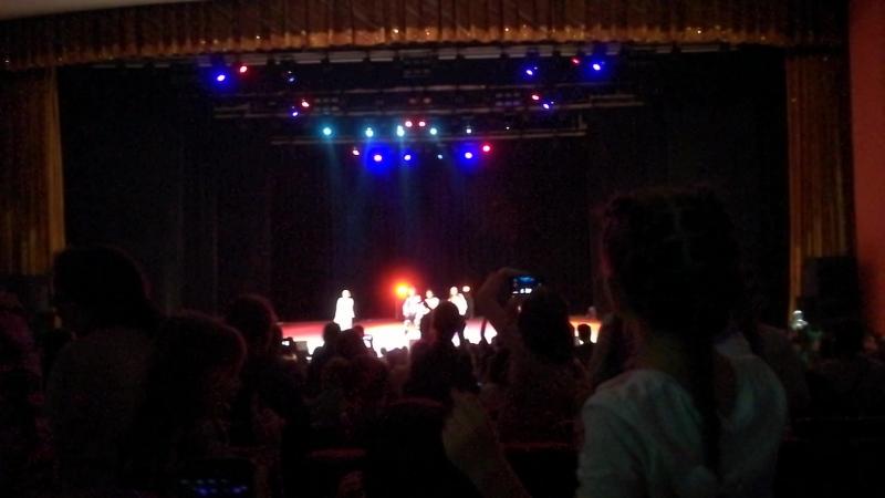 на концерте Опен Кидс