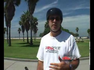 How to Ride a Trikke (5) : Riding Downhill