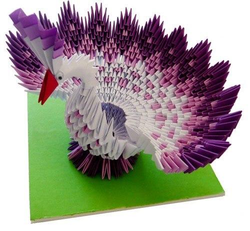 схемы модульного оригами
