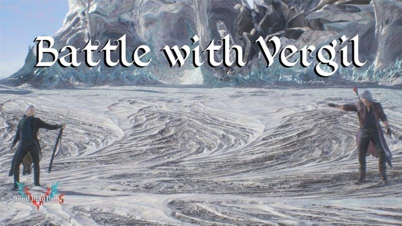 【DMC5】Battle with Vergil