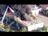 Пожар в Сан-Габриэле
