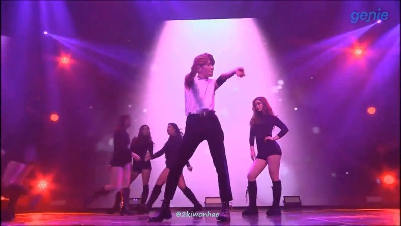 180123 레인즈 RAINZ 2ND MINI LIVE (은기 Eunki) - Move (태민 Taemin)