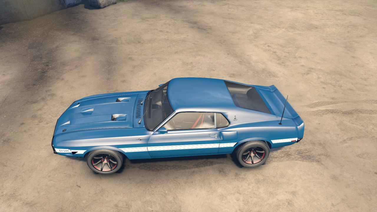 Ford shelby gt500 для Spintires - Скриншот 3