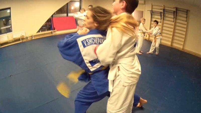 Тренировка дзюдоистов по протоколу Табата