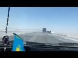 Трасса Актобе - Хромтау 21.01.2018г