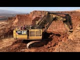 Cat 6040 Excavator Loading 250 Tonnes Dumpers And Operator View