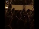 В Петербурге на Алых парусах провалилась крыша грузовика под тяжестью людей