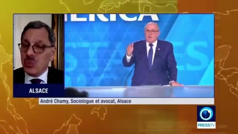 Maître André Chamy L'adhésion à l'OTAN induit automatiquement la soumission à l'Empire 1min07s
