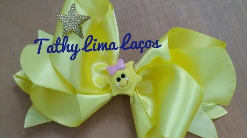 ✔Laço Melodia🎀 ❤By Tathy Lima ❤