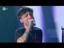 Ultimo Il ballo delle incertezze L'esibizione nella finale serata di Sanremo 2018