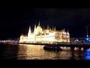 Ночной Будапешт. Вид на Парламент с Дуная 08.07.2018
