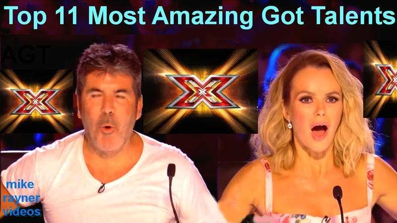 All 11 Best Got Talent Auditions! Top Golden Buzzer Worldwide! AGT! BGT! 2018