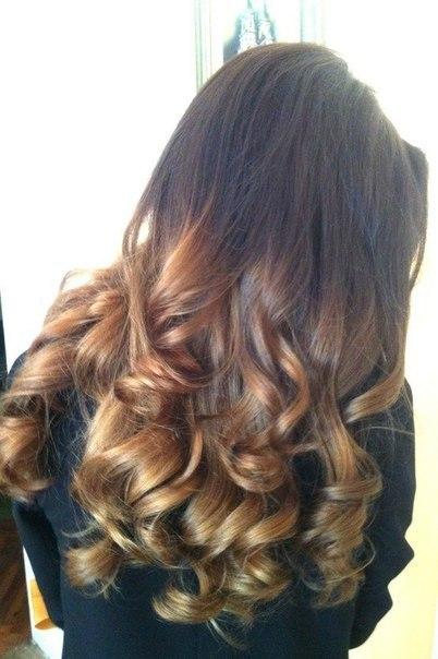 волосы двухцветные фото