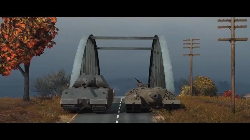 World of Tanks Maus vs T95 Race