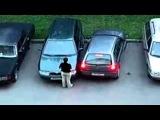Припарковала авто как смогла! Так паркуются многие женщины!
