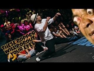 These Poppers Will Pop Out Your Eyes | Popping Dance Battles 2018🔥 | Hoan,Kite,Slim boogie and more